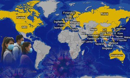 Corona virüsünün yayıldığı ülkeler (Virüs kaç ülkeye sıçradı?)