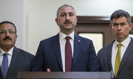 Adalet Bakanı Gül, koronavirüse karşı yeni tedbirleri açıkladı