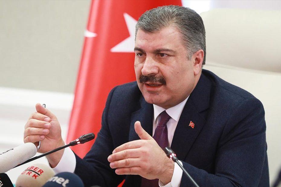 Sağlık Bakanı Koca, Türkiye'de ilk korona virüsü vakasına rastlandı.