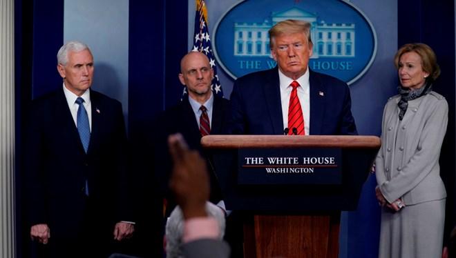 Trump, Corona virüs salgını nedeniyle Çin'i suçladı