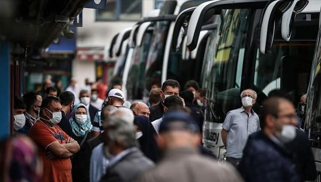 İstanbul'da şehirlerarası otobüs sefer sayısı günde 800'e çıktı
