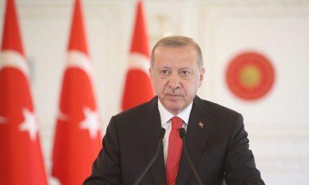 Cumhurbaşkanı Erdoğan'dan 'Doğu Akdeniz' mesajı