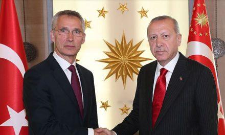 Cumhurbaşkanı Erdoğan, NATO Genel Sekreteri ile telefonda görüştü