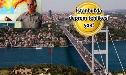 İstanbul için dikkat çeken açıklama: Ağır ve yıkıcı deprem beklenmiyor!