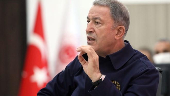 Milli Savunma Bakanı Akar'dan Doğu Akdeniz açıklaması
