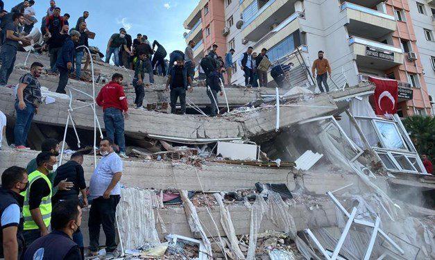 İzmir Seferihisar açıklarında 6,6 büyüklüğünde deprem: 12 can kaybı, 607 yaralı
