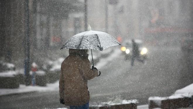 Meteoroloji'den haftalık hava tahmini: Önce yağmur ardından tekrar kar geliyor