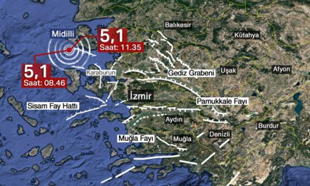 Karaburun açıklarında 5,1 büyüklüğünde bir deprem daha