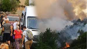 Adana, İzmir, Isparta, Denizli, Antalya ve Muğla'da orman yangınları