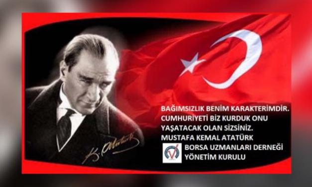 30 Ağustos Zafer Bayramımız Kutlu Olsun..